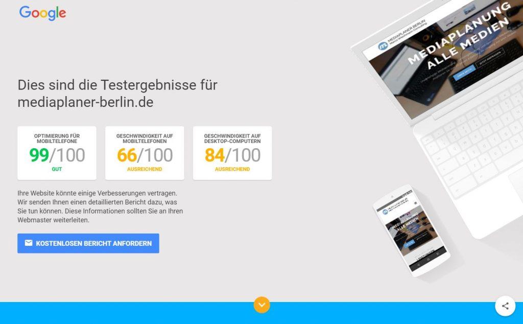 Testergebnisse von mediaplaner-berlin.de